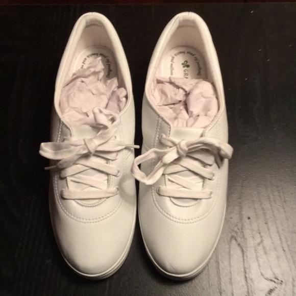 White Leather Sneakers   Poshmark